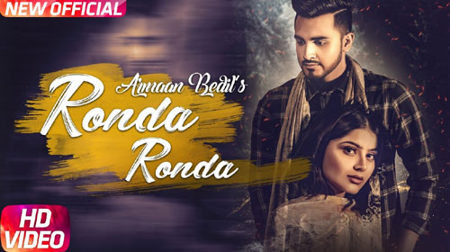 Ronda Ronda Lyrics by Armaan Bedil
