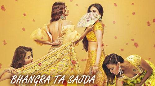 Bhangra Ta Sajda Lyrics from Veere Di Wedding