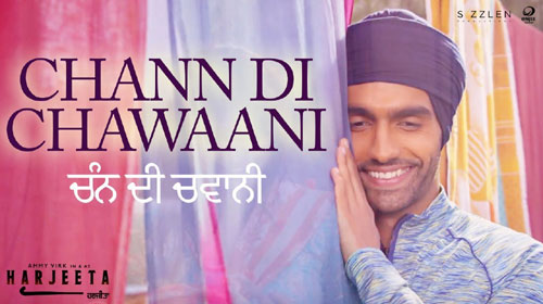 Chann Di Chawaani Lyrics by Ammy Virk, Mannat Noor
