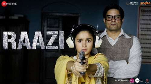 Raazi Lyrics - Title Track