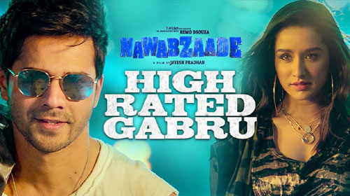 High Rated Gabru Lyrics from Nawabzaade