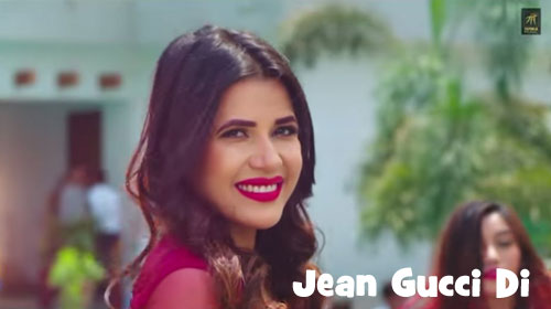 Jean Gucci Di Lyrics by Gagan Dhillon