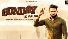 Gunday Ik Vaar Fer Lyrics by Dilpreet Dhillon