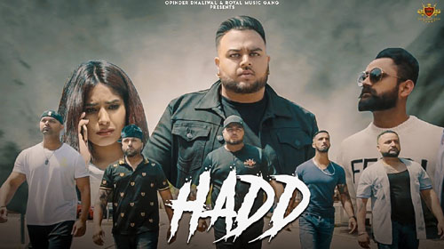 Hadd Lyrics by Deep Jandu