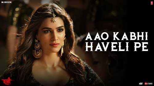 Aao Kabhi Haveli Pe Lyrics from Stree