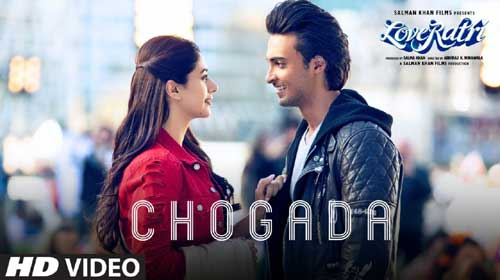 Chogada Lyrics from Loveratri