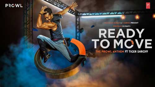 Ready To Move Lyrics feat Tiger Shroff
