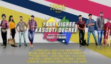 Yaar Jigree Kasooti Degree Lyrics by Sharry Mann