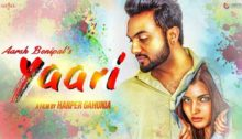 Yaari Lyrics by Aarsh Benipal