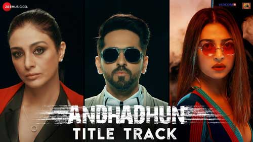 Andhadhun Lyrics by Raftaar
