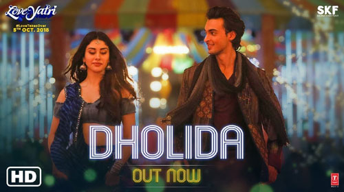 Dholida Lyrics from Loveyatri