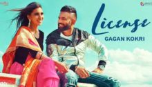 License Lyrics by Gagan Kokri