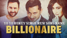 Billionaire Lyrics by Yo Yo Honey Singh from Baazaar