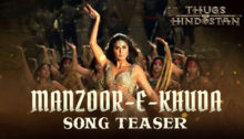 Manzoor-e-Khuda Lyrics from Thugs Of Hindostan