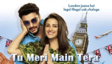 Tu Meri Main Tera Lyrics from Namaste England