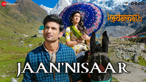 Jaan Nisaar Lyrics from Kedarnath