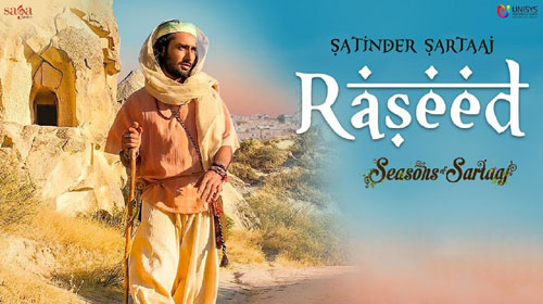 Raseed Lyrics by Satinder Sartaaj