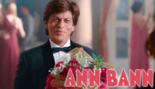 Ann Bann Lyrics from Zero feat Shahrukh Khan