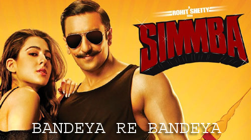 Bandeya Re Bandeya Lyrics from Simmba