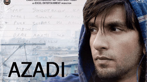 Azadi Lyrics from Gully Boy