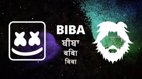 Biba Lyrics by Marshmello & Pritam