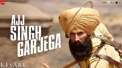 Ajj Singh Garjega Lyrics from Kesari