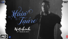 Main Taare Lyrics from Notebook