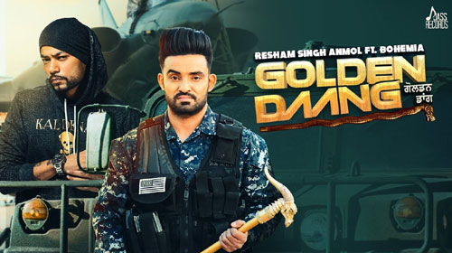 Golden Daang Lyrics by Resham Singh Anmol