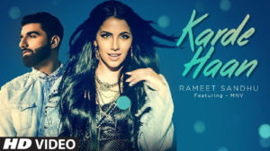 Karde Haan Lyrics by Rameet Sandhu
