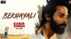 Bekhayali Lyrics from Kabir Singh