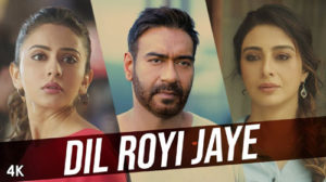 Dil Royi Jaye Lyrics from De De Pyaar De