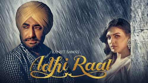 Adhi Raat Lyrics by Ranjit Bawa