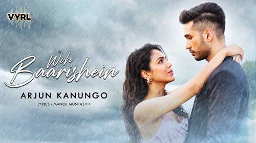 Woh Baarishein Lyrics by Arjun Kanungo
