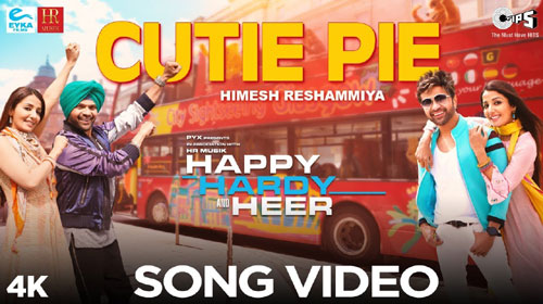 Cutie Pie Lyrics by Himesh Reshammiya
