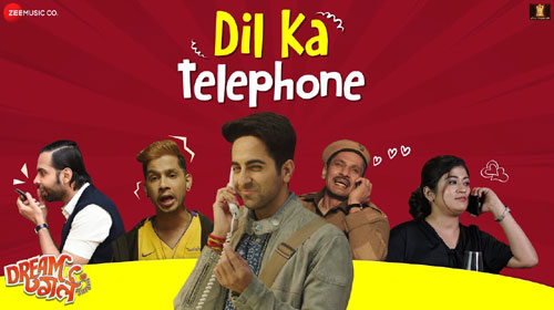 Dil Ka Telephone Lyrics - Dream Girl