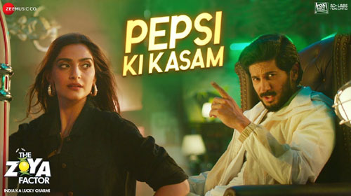Pepsi Ki Kasam Lyrics from The Zoya Factor