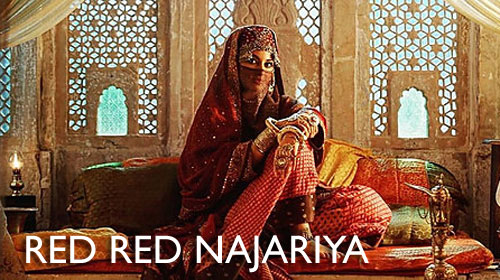 Red Red Najariya Lyrics from Laal Kaptaan