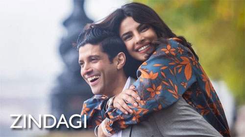 Zindagi Lyrics from The Sky Is Pink by Arijit Singh