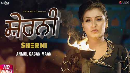 Sherni Lyrics by Anmol Gagan Maan