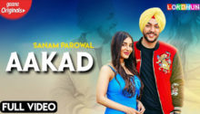Aakad Lyrics by Sanam Parowal