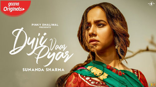 Duji Vaar Pyar Lyrics by Sunanda Sharma