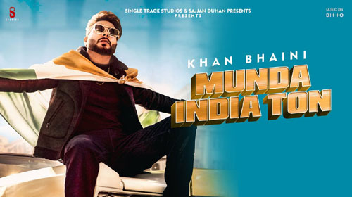 Munda India Ton Lyrics by Khan Bhaini