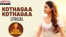 Kotthaga Kotthaga Lyrics from Miss India
