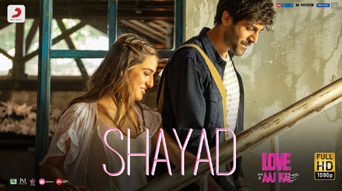 Shayad Lyrics Love Aaj Kal Lyricsbell