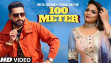 100 Meter Lyrics by Geeta Zaildar